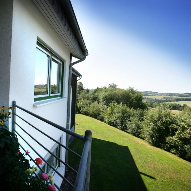 Ausblick vom Appartment Appenhagen mit Balkon