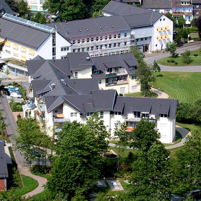 Die betreutes wohnen Anlage Morsbach von oben