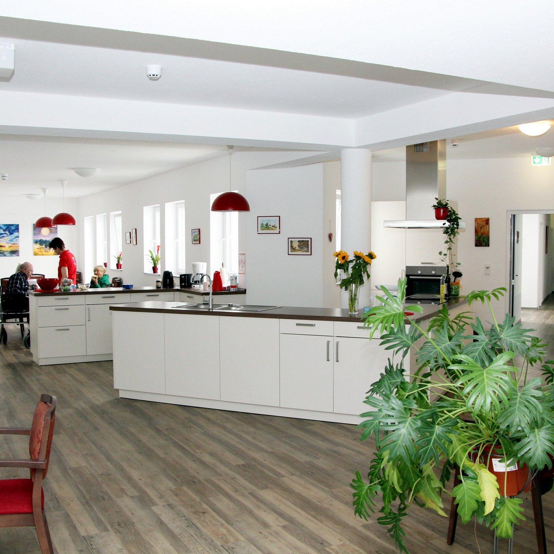 Küche in der Wohngemeinschaft Waldbröl